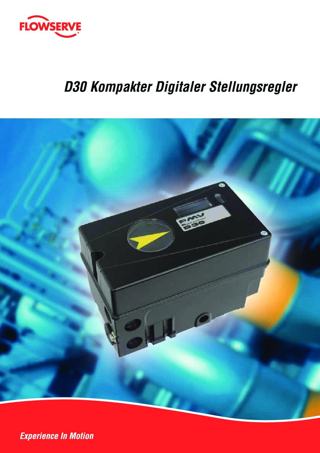 D30 – PMV Positioners
